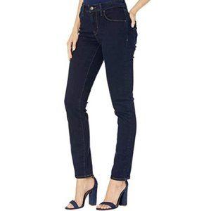 Levi's Classic Mid Rise Skinny Dark Wash Jeans